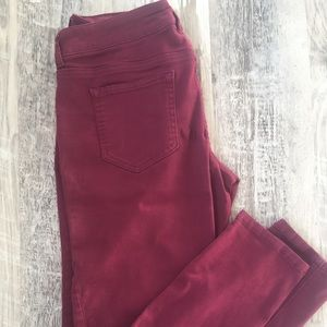 Cranberry Jeggings
